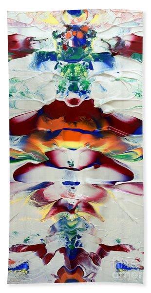 Abstract Series H1015a Beach Towel