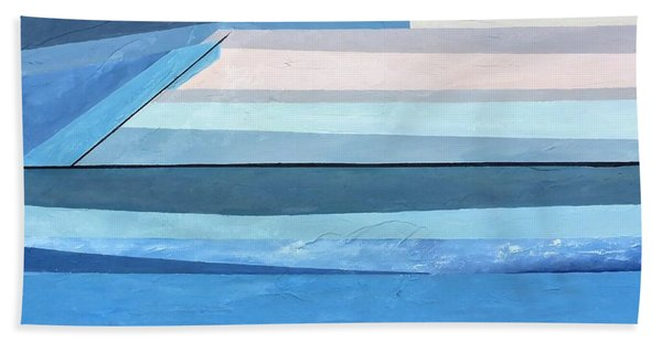 Abstract Swimming Pool Beach Towel