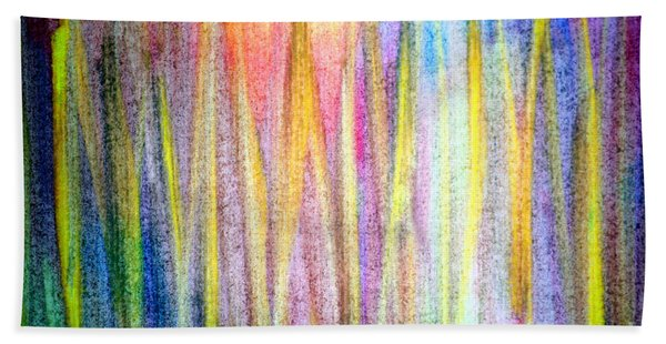 Abstract Watercolor A2 1216 Beach Towel