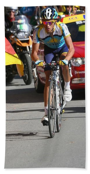 Photograph - Alberto Contador - Mountain Stage by Travel Pics