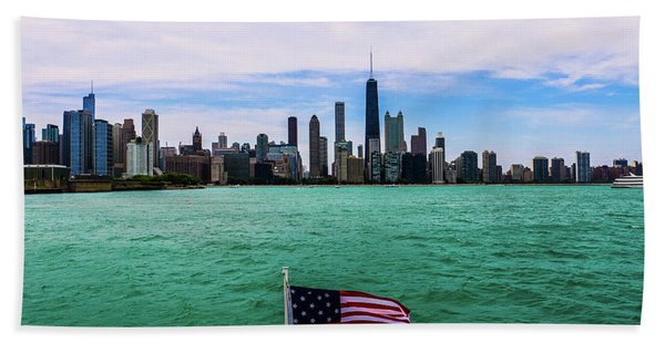 American Chi 2 Beach Towel
