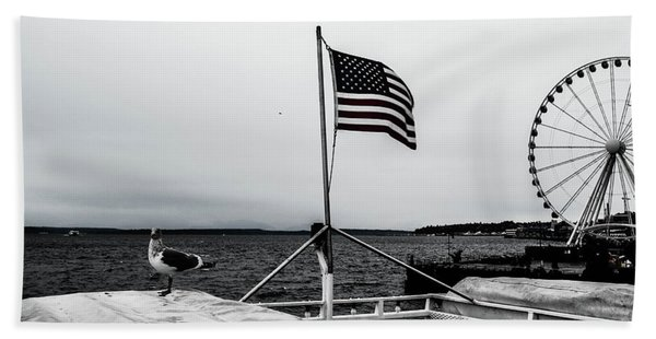 American Seattle Beach Towel