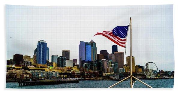 American Seattle Ic Beach Towel