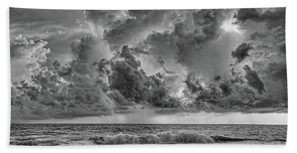And The Rains Came 2 - Clouds Beach Towel