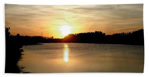 Anderson Stormwater Park In Rockledge Florida Beach Towel