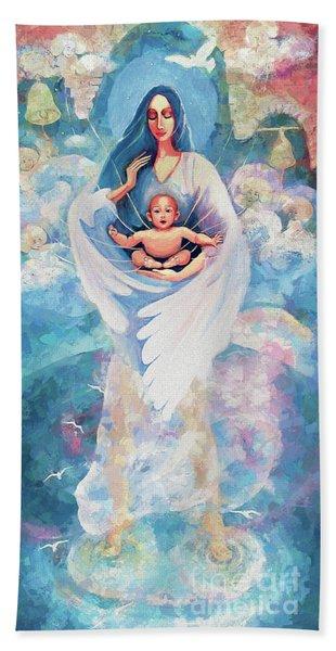 Angel Blessing Beach Sheet