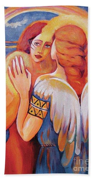 Angel Touch Beach Sheet
