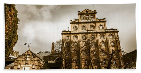 Antique Australia Architecture Beach Towel