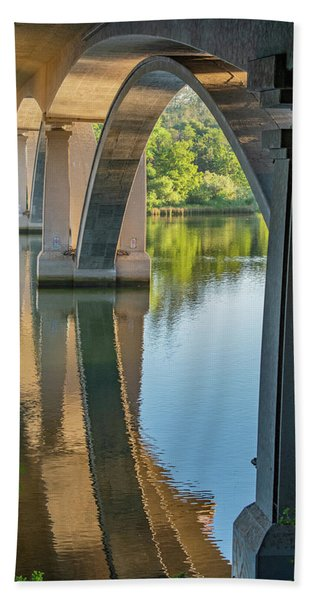 Archway Reflection Beach Towel