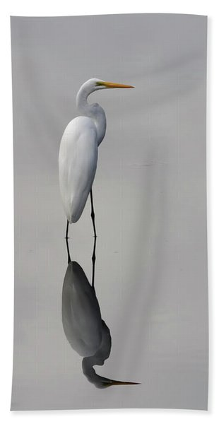 Argent Mirror #2 Beach Towel
