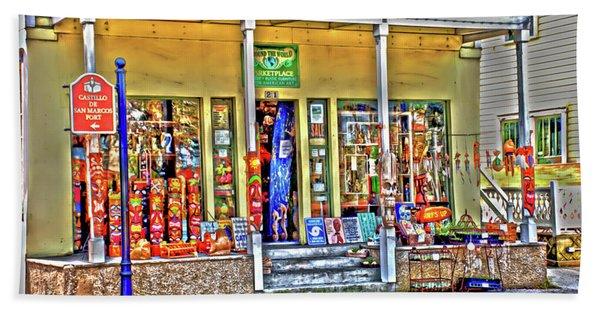 Around The World Marketplace Saint Augustine Beach Sheet