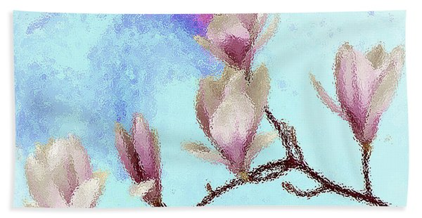 Art Magnolia Beach Towel
