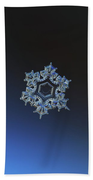 Snowflake Photo - Spark Beach Towel