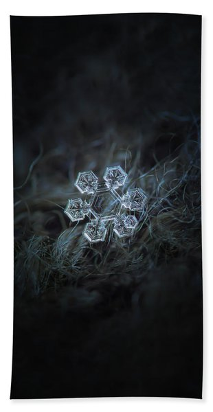 Icy Jewel Beach Towel