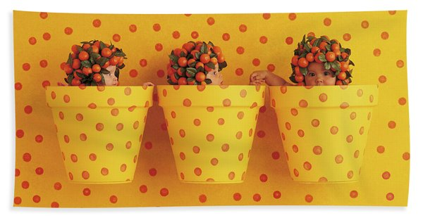 Spotted Pots Beach Towel