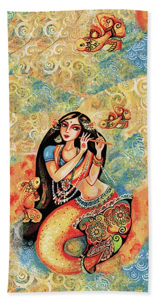 Aanandinii And The Fishes Beach Towel
