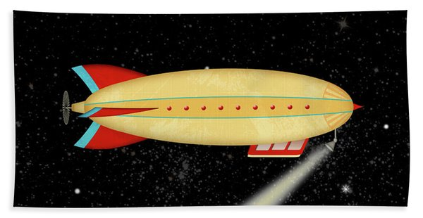 Z Is For Zeppelin Beach Sheet