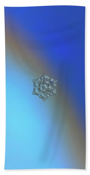 Real Snowflake - 05-feb-2018 - 5 Beach Towel