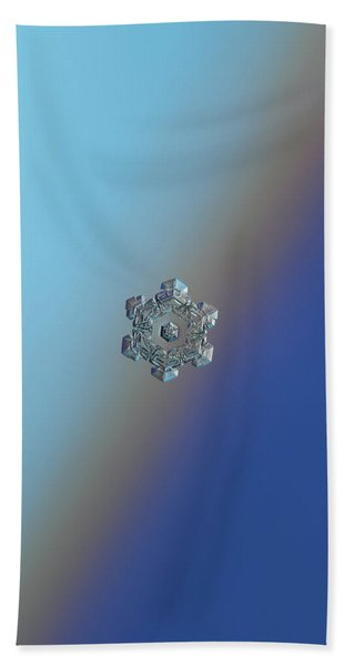 Real Snowflake - 05-feb-2018 - 6 Beach Towel