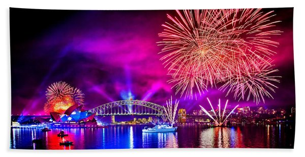 Aussie Celebrations Beach Towel
