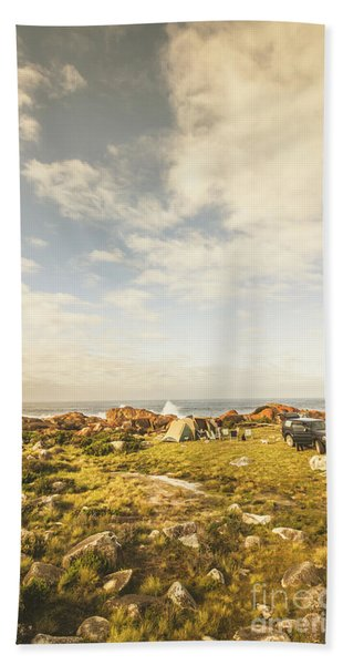 Australian Exploration Beach Towel