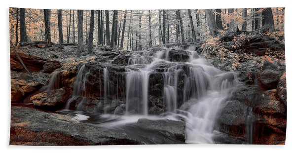 Autumn In Spring Infrared Beach Towel