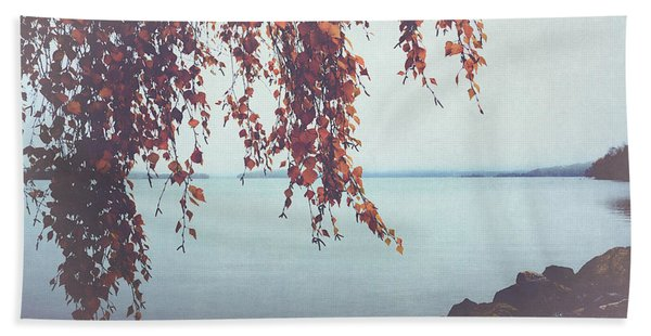 Autumn Shore Beach Towel