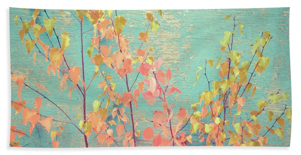 Autumn Wall Beach Towel