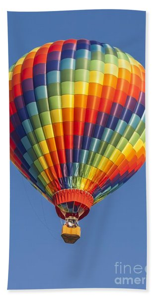Ballooning In Color Beach Towel