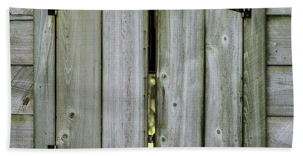 Barn Window, In Color Beach Towel