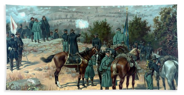Battle Of Chattanooga Beach Towel