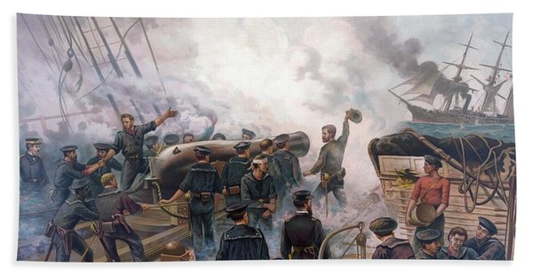 Battle Of Cherbourg Beach Towel