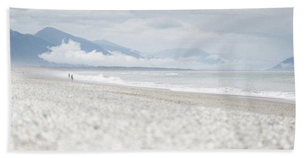 Beach For Two Beach Sheet