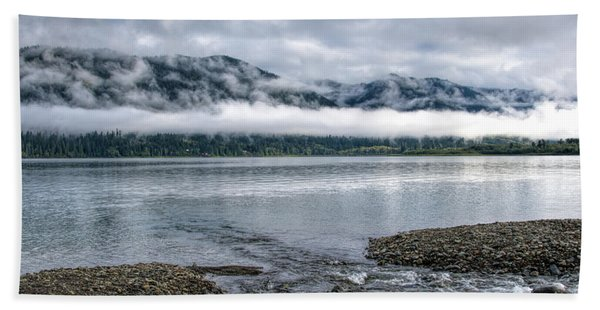 Before The Dawn On Quinault By Mike-hope Beach Towel