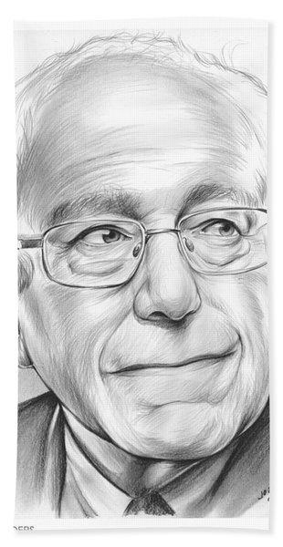 Bernie Sanders Beach Towel