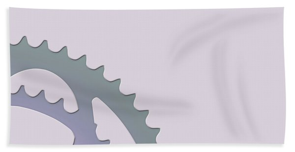 Bicycle Chain Ring - 2 Of 4 Beach Towel