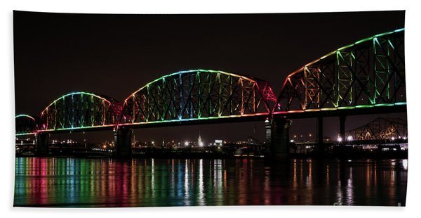 Big Four Bridge 2215 Beach Towel