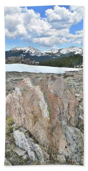 Big Horn Pass In Wyoming Beach Towel