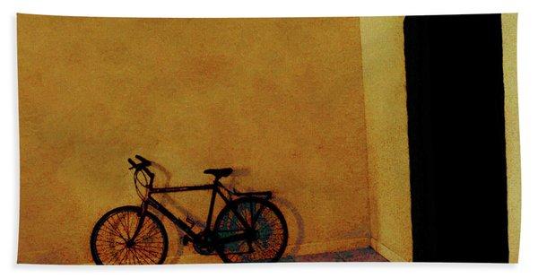 Bike Art Beach Sheet