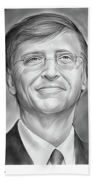 Bill Gates Beach Towel