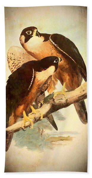 Birds Of Prey 2 Beach Sheet