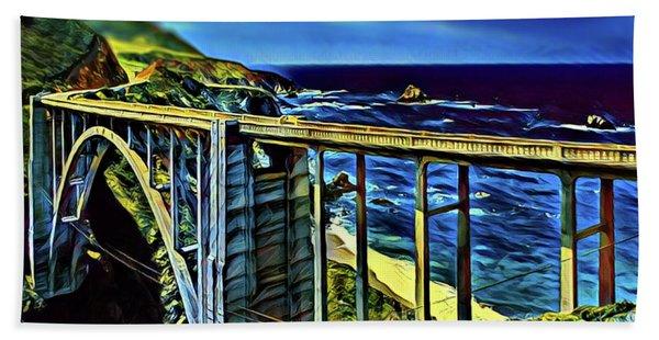 Bixby Creek Bridge - Big Sur Beach Towel