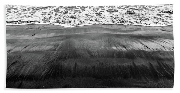 Black Sands  Beach Towel
