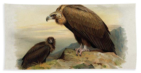Black Vulture By Thorburn Beach Towel