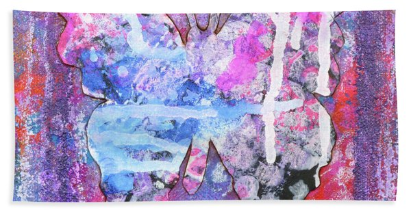 Blessed Butterfly Beach Towel
