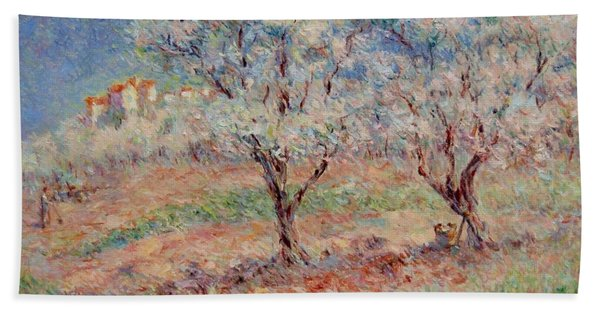 Blossom Trees  Beach Sheet