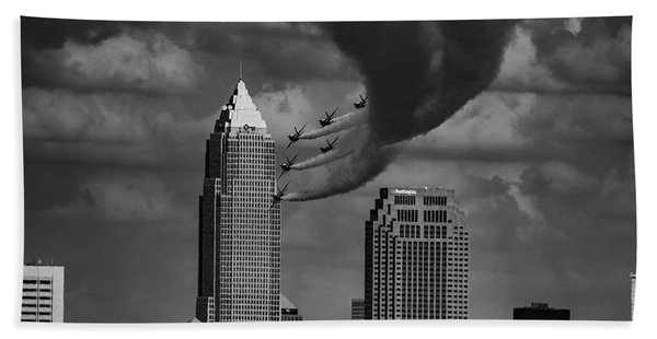 Blue Angels - Cleveland Beach Towel