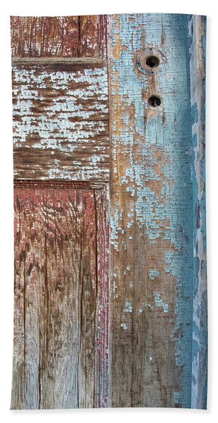 Blue Door Crackle Beach Sheet
