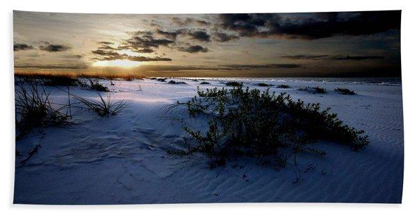 Blue Morning Beach Sheet
