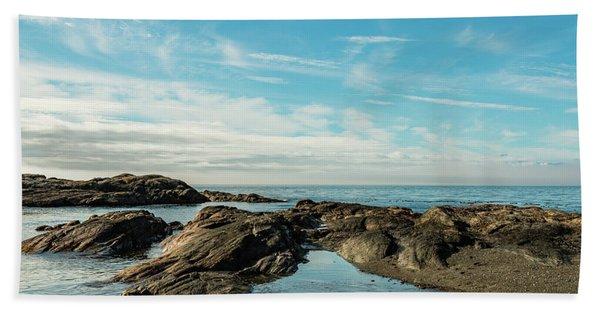 Blue Water Beach Towel